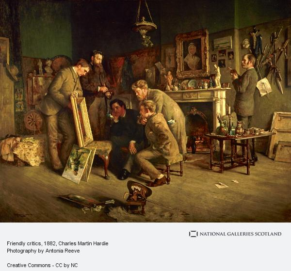 Charles Martin Hardie, Friendly critics (1882 - 1883)