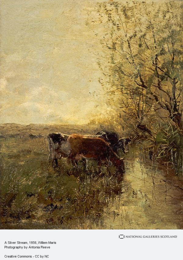 Willem Maris, A Silver Stream