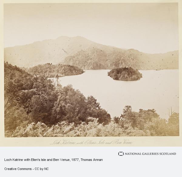 Thomas Annan, Loch Katrine with Ellen's Isle and Ben Venue