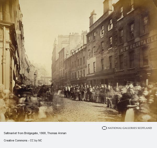 Thomas Annan, Saltmarket from Bridgegate (1868 - 1871)