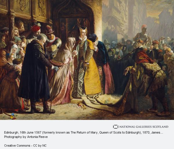 James Drummond, The Return of Mary Queen of Scots to Edinburgh (1870)