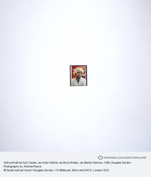 Douglas Gordon, Self-portrait as Kurt Cobain, as Andy Warhol, as Myra Hindley, as Marilyn Monroe