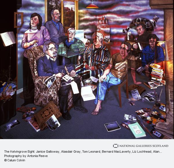 Calum Colvin, The Kelvingrove Eight: Janice Galloway, Alasdair Gray, Tom Leonard, Bernard MacLaverty, Liz Lochhead, Alan Spence, Jeff Torrington, Agnes Owens (2000)