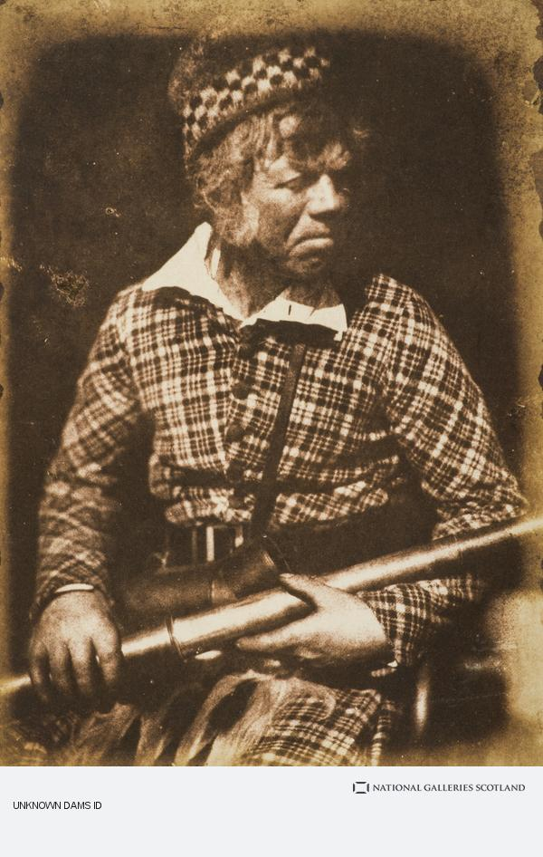 David Octavius Hill, - Finlay, deerstalker in the employ of Campbell of Islay [f] (About 1845)