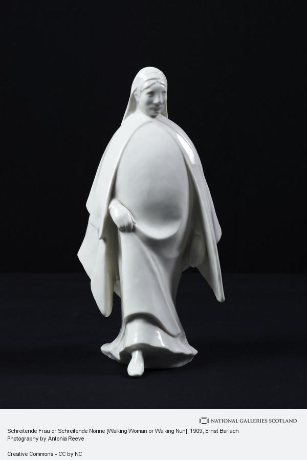 Ernst Barlach, Schreitende Frau or Schreitende Nonne [Walking Woman or Walking Nun]