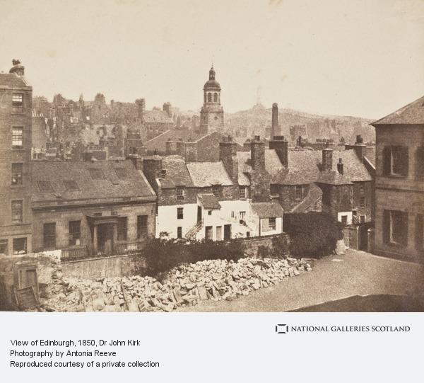 Dr John Kirk, View of Edinburgh