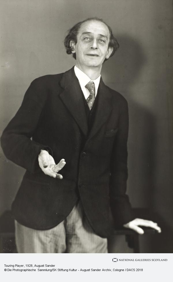 August Sander, Touring Player, 1928-30 (1928 - 1930)