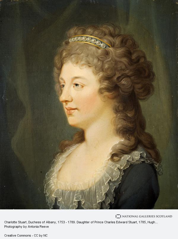 Hugh Douglas Hamilton, Charlotte Stuart, Duchess of Albany, 1753 - 1789. Daughter of Prince Charles Edward Stuart (About 1785 - 1786)