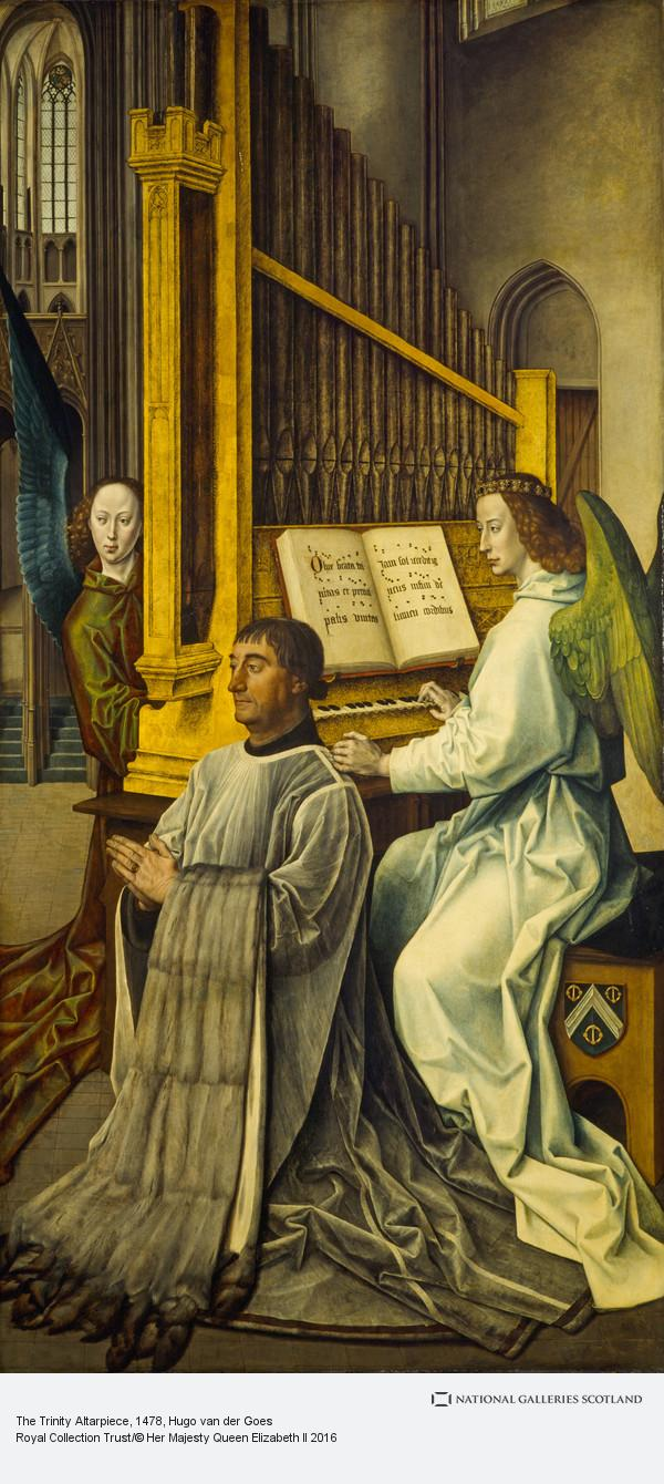 Hugo van der Goes, The Trinity Altarpiece