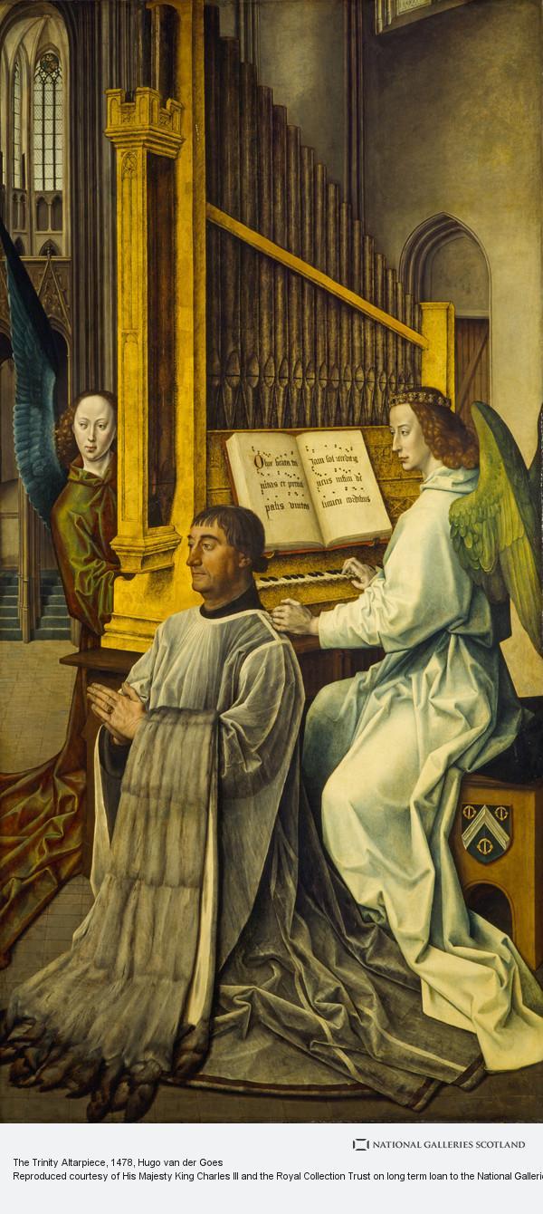Hugo van der Goes, The Trinity Altarpiece