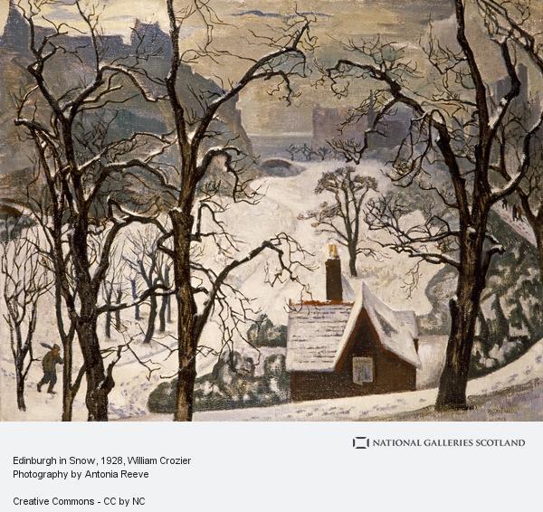 William Crozier, Edinburgh in Snow