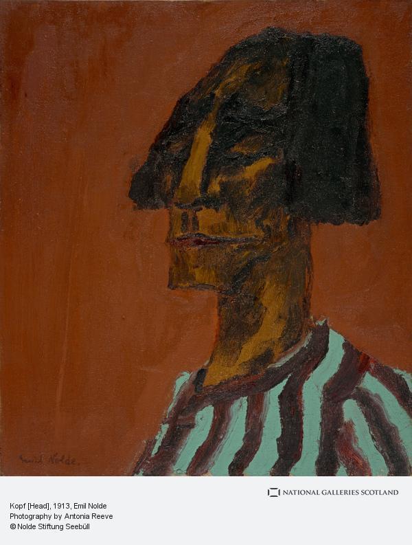 Emil Nolde, Kopf [Head]