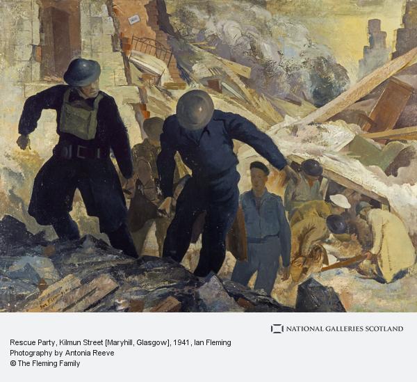 Ian Fleming, Rescue Party, Kilmun Street [Maryhill, Glasgow] (1941)