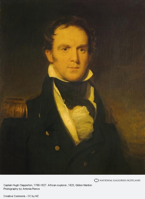 Gildon Manton, Captain Hugh Clapperton, 1788 - 1827. African explorer (1825)
