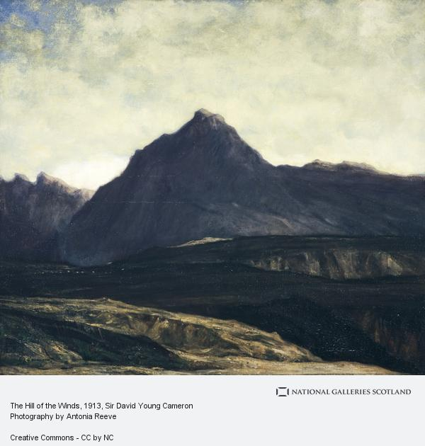 Sir David Young Cameron, The Hill of the Winds (About 1913)