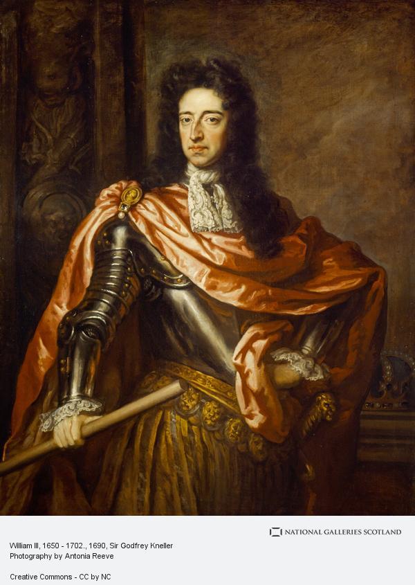 Sir Godfrey Kneller, William III, 1650 - 1702.