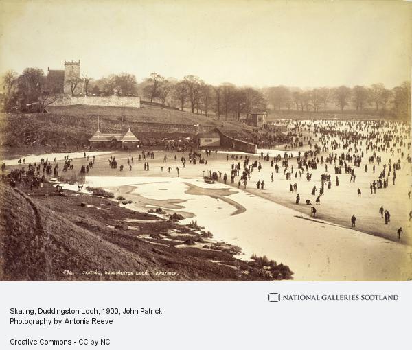 John Patrick, Skating, Duddingston Loch (About 1900)