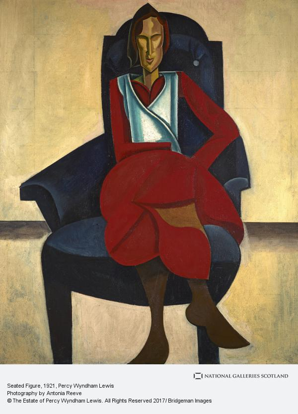 Percy Wyndham Lewis, Seated Figure