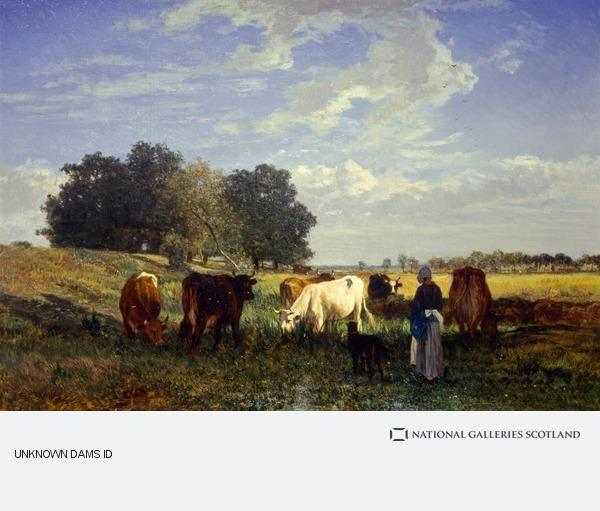 Constant Troyon, Cattle Grazing in Touraine