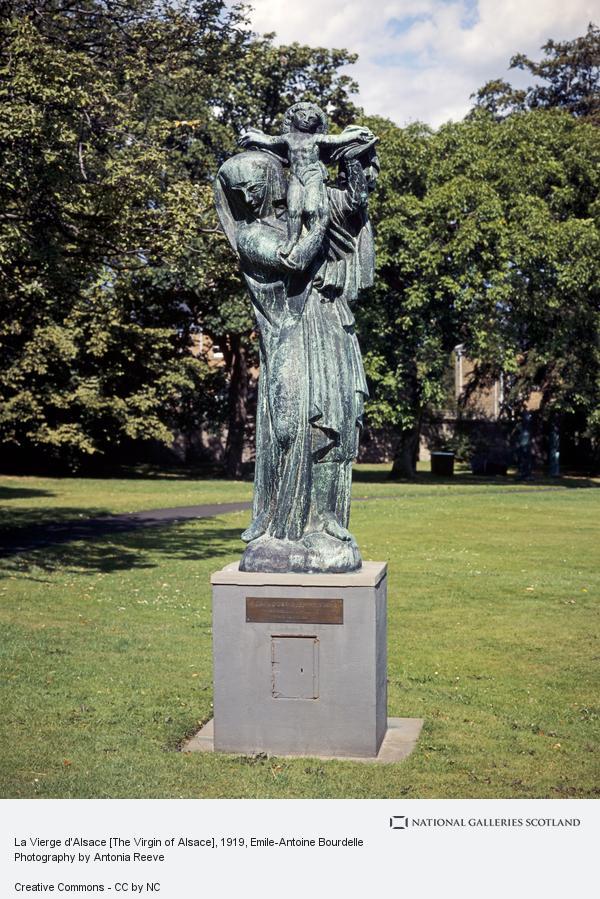 Emile-Antoine Bourdelle, La Vierge d'Alsace [The Virgin of Alsace]