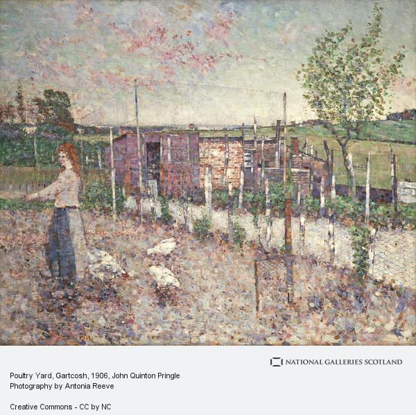 John Quinton Pringle, Poultry Yard, Gartcosh (1906)