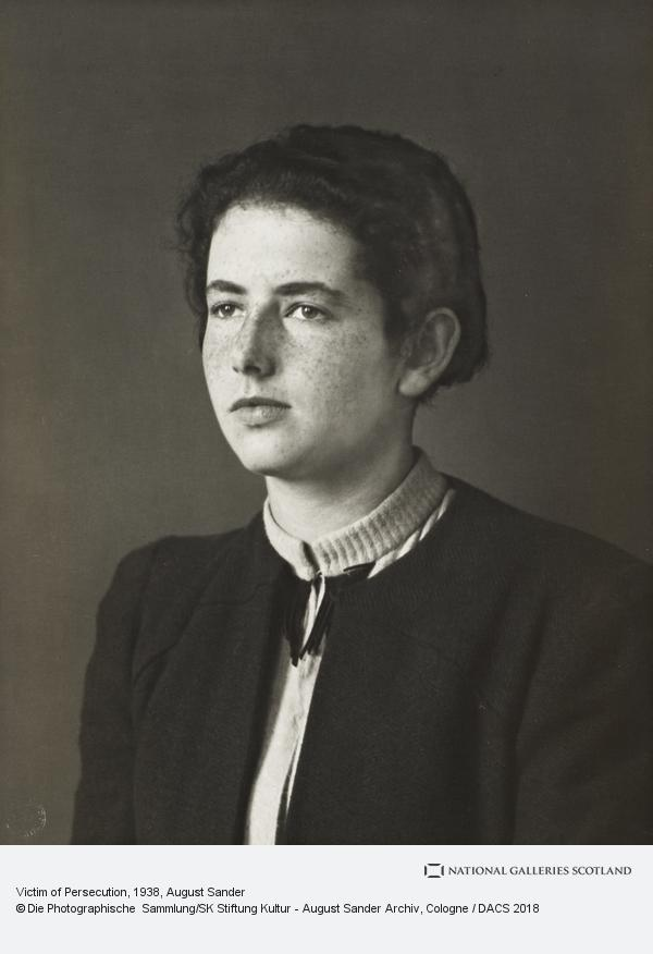 August Sander, Victim of Persecution, c.1938 (about 1938)