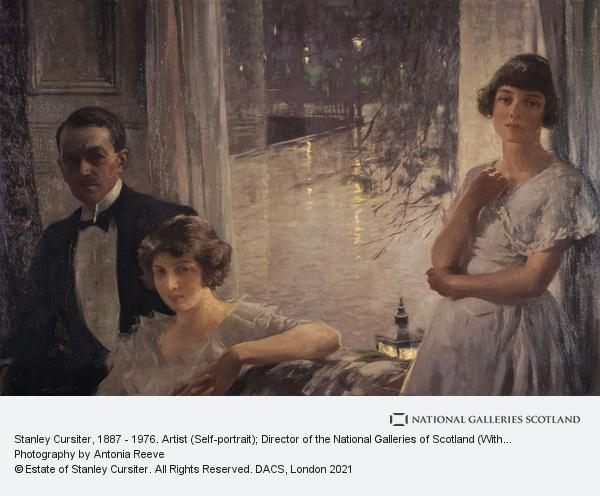 Stanley Cursiter, Stanley Cursiter, 1887 - 1976. Artist (Self-portrait); Director of the National Galleries of Scotland (With his wife Phyllis Eda Hourston and his...