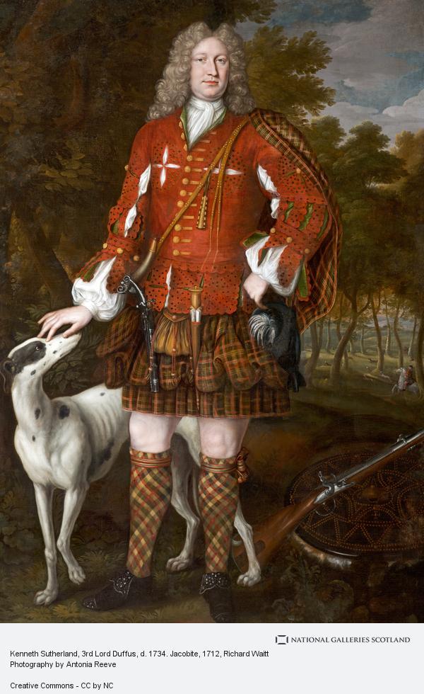 Richard Waitt, Kenneth Sutherland, 3rd Lord Duffus, d. 1734. Jacobite
