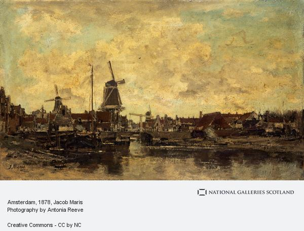 Jacob Maris, Amsterdam (About 1878)