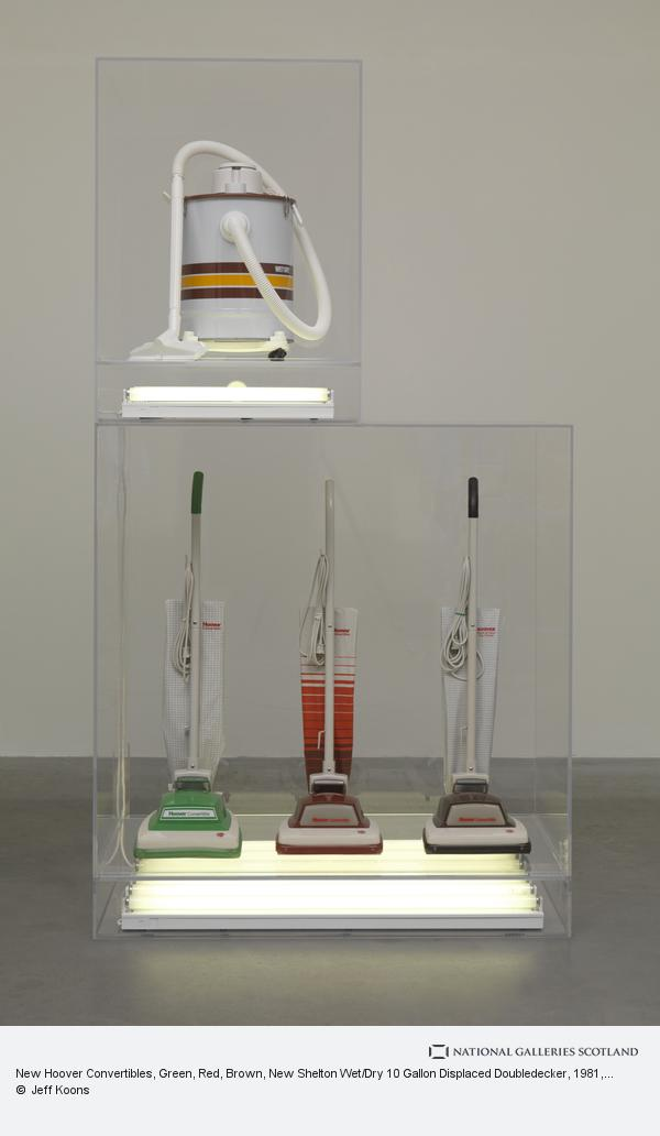 Jeff Koons, New Hoover Convertibles, Green, Red, Brown, New Shelton Wet/Dry 10 Gallon Displaced Doubledecker (1981 - 1987)
