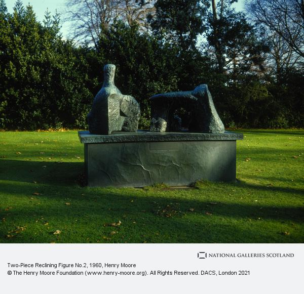 Henry Moore, Two-Piece Reclining Figure No.2