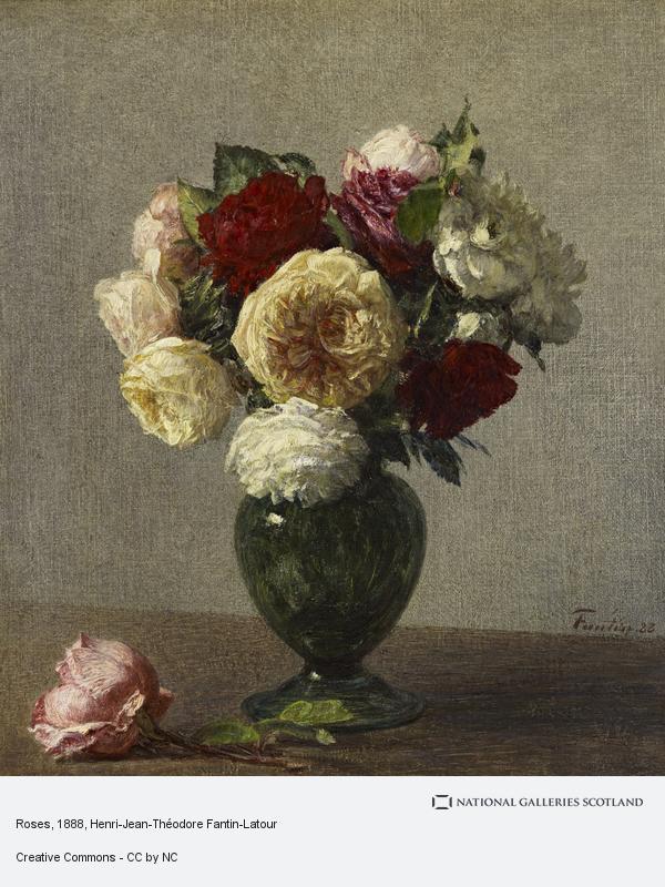 Henri-Jean-Théodore Fantin-Latour, Roses