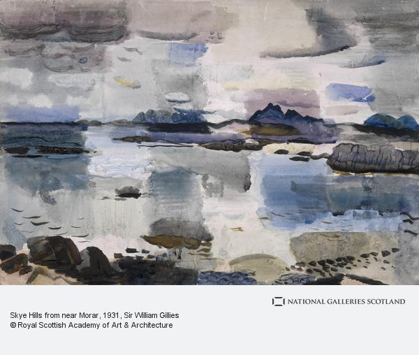Sir William Gillies, Skye Hills from near Morar (About 1931)