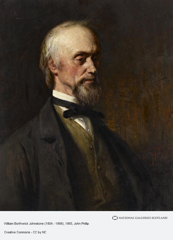 John Phillip, William Borthwick Johnstone (1804 - 1868)