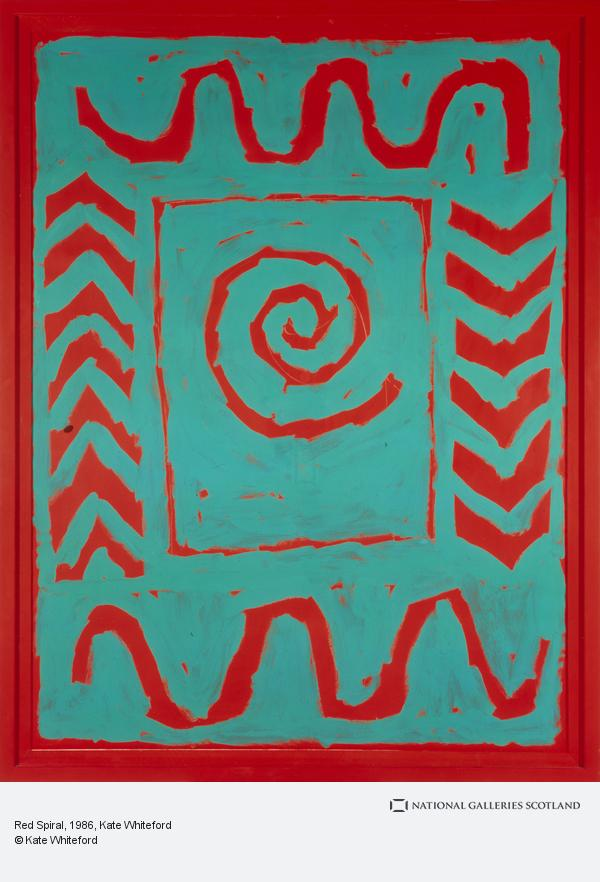 Kate Whiteford, Red Spiral (1986)