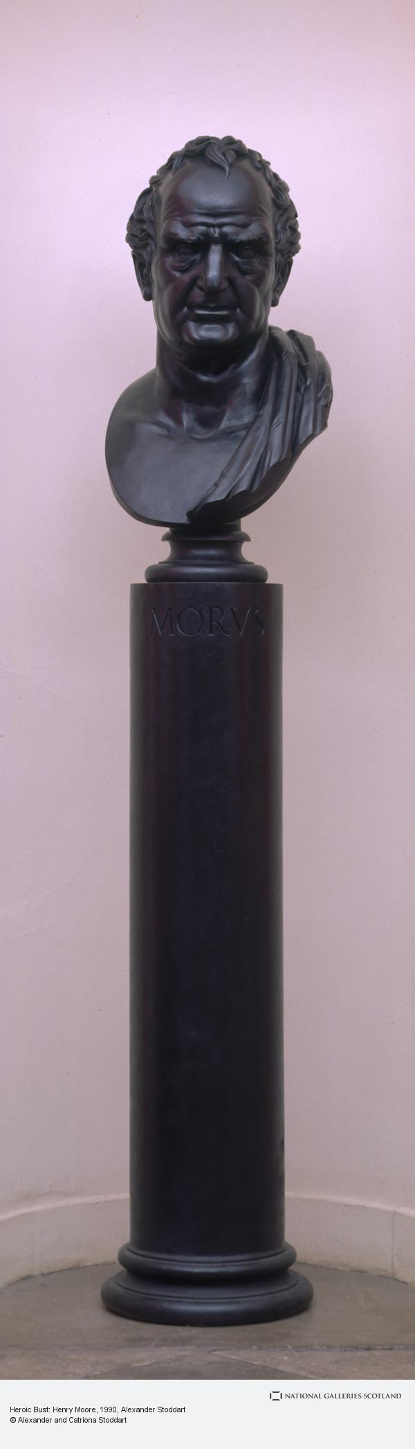 Alexander Stoddart, Heroic Bust: Henry Moore