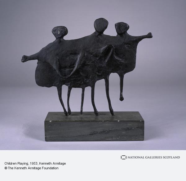 Kenneth Armitage, Children Playing (1953)