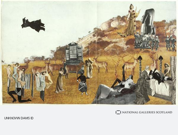 Georges Hugnet, Untitled collages