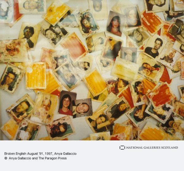 Anya Gallaccio, Broken English August '91