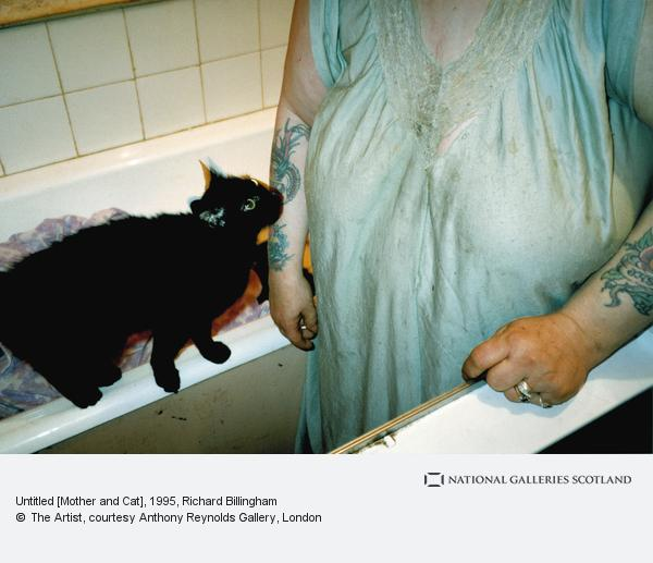 Richard Billingham, Untitled [Mother and Cat]