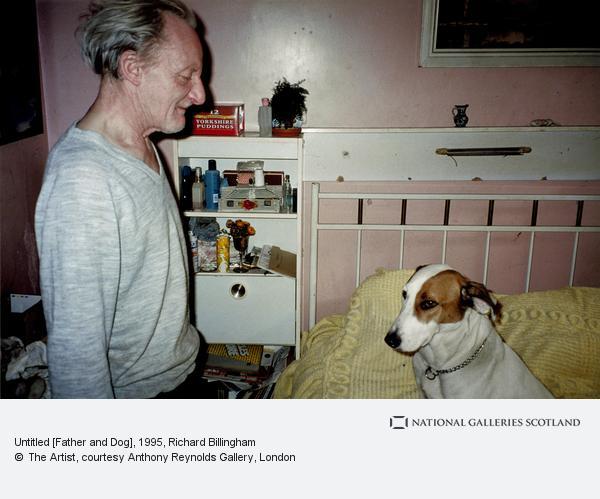 Richard Billingham, Untitled [Father and Dog]