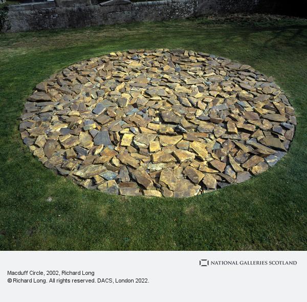 Richard Long, Macduff Circle (2002)