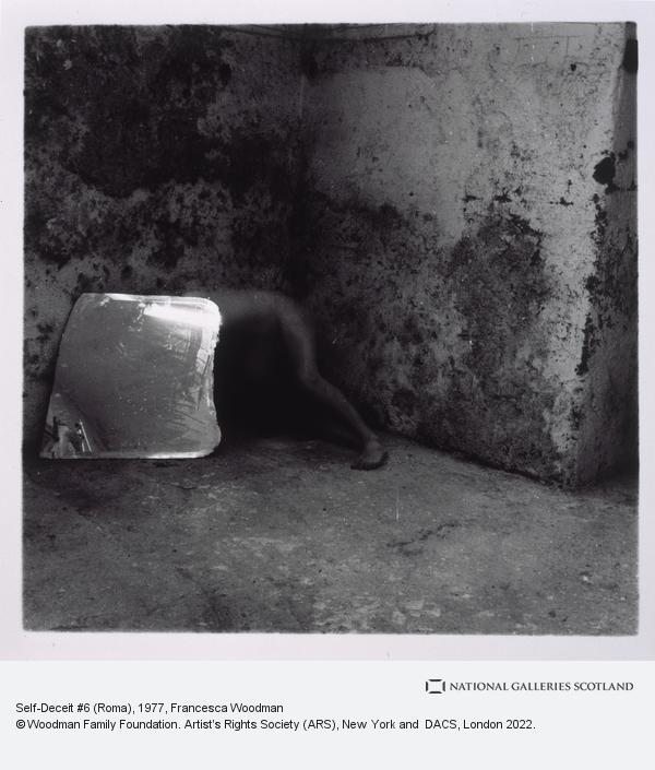 Francesca Woodman, Self-Deceit #6 (Roma)