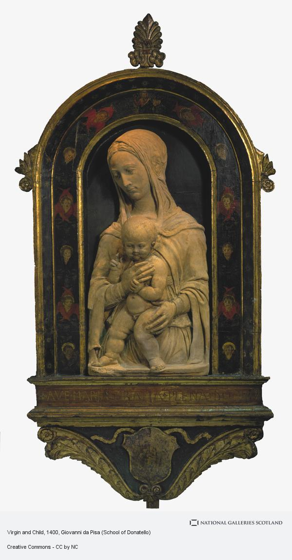 Giovanni da Pisa (School of Donatello), Virgin and Child