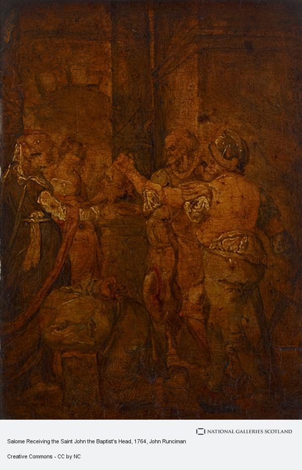 John Runciman, Salome Receiving the Saint John the Baptist's Head