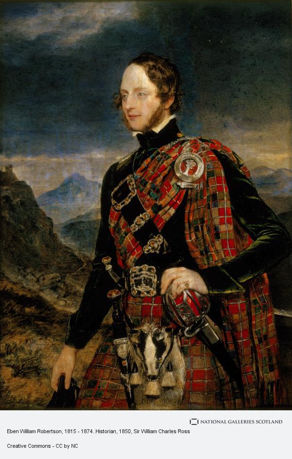 Sir William Charles Ross, Eben William Robertson, 1815 - 1874. Historian