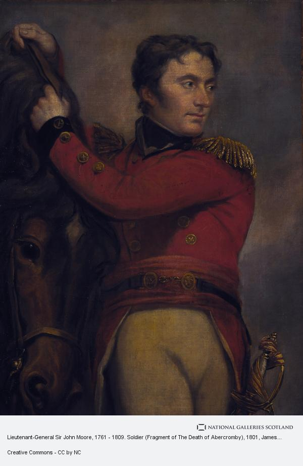 James Northcote, Lieutenant-General Sir John Moore, 1761 - 1809. Soldier (Fragment of The Death of Abercromby)