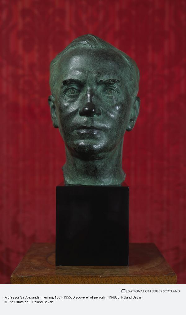 E. Roland Bevan, Professor Sir Alexander Fleming, 1881-1955. Discoverer of penicillin