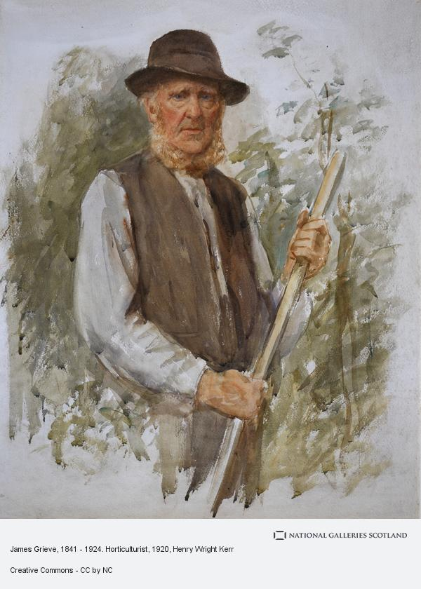 Henry Wright Kerr, James Grieve, 1841 - 1924. Horticulturist (About 1920)