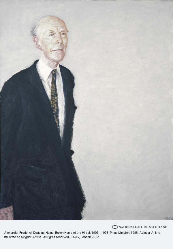 Avigdor Arikha, Alexander Frederick Douglas-Home, Baron Home of the Hirsel, 1903 - 1995. Prime Minister (1988)